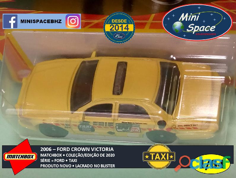Matchbox 2006 Ford Crown Victoria Taxi 1/64 9