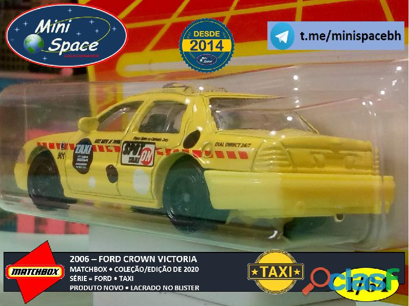 Matchbox 2006 Ford Crown Victoria Taxi 1/64 8