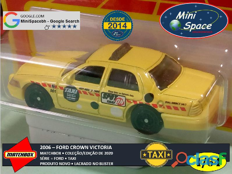 Matchbox 2006 Ford Crown Victoria Taxi 1/64 7
