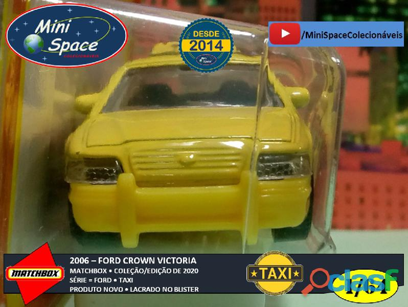Matchbox 2006 Ford Crown Victoria Taxi 1/64 6