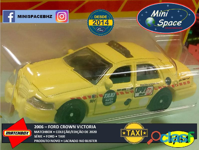 Matchbox 2006 Ford Crown Victoria Taxi 1/64 5