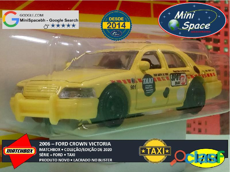 Matchbox 2006 Ford Crown Victoria Taxi 1/64 3
