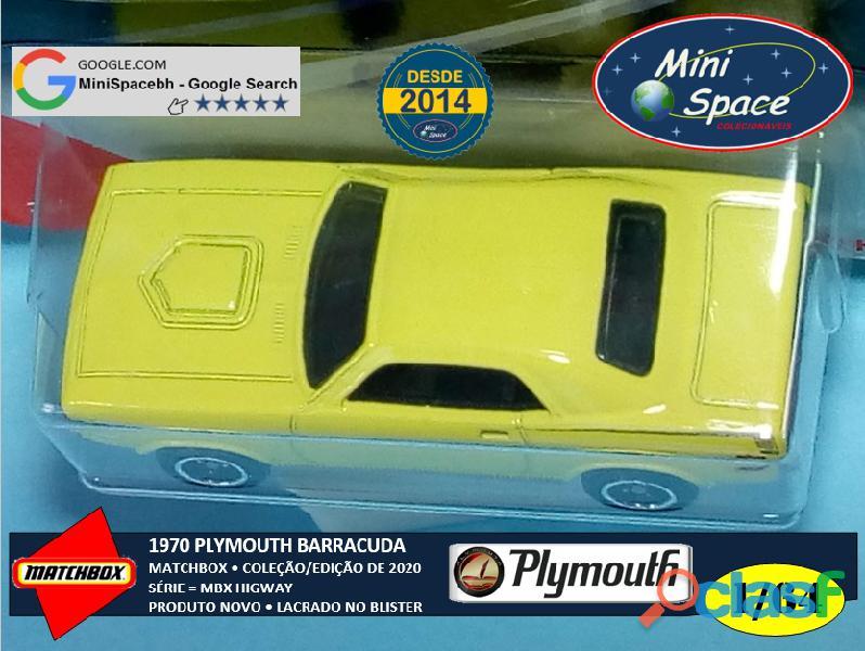 Matchbox 1970 Plymouth Barracuda 1/64 11
