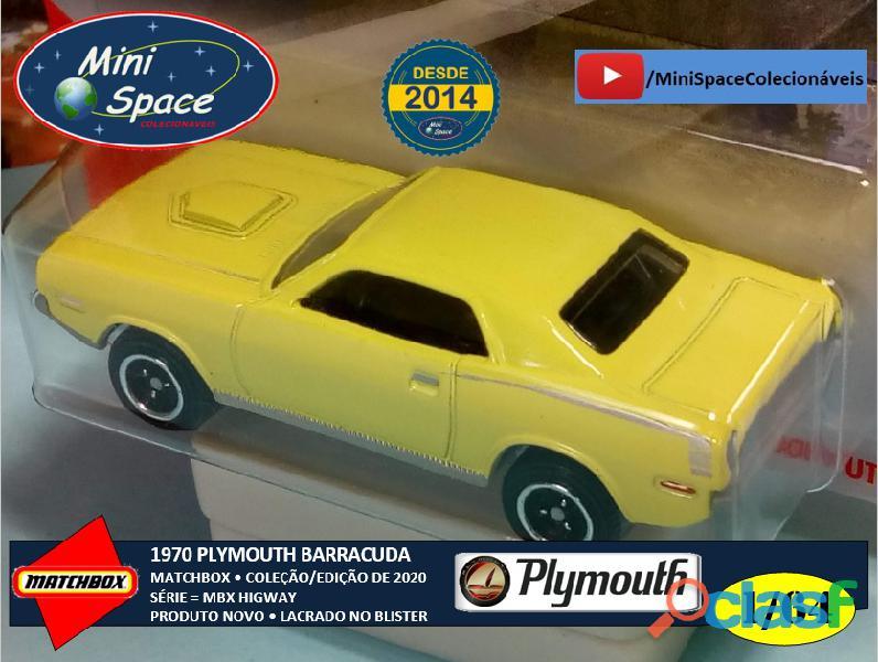 Matchbox 1970 Plymouth Barracuda 1/64 10