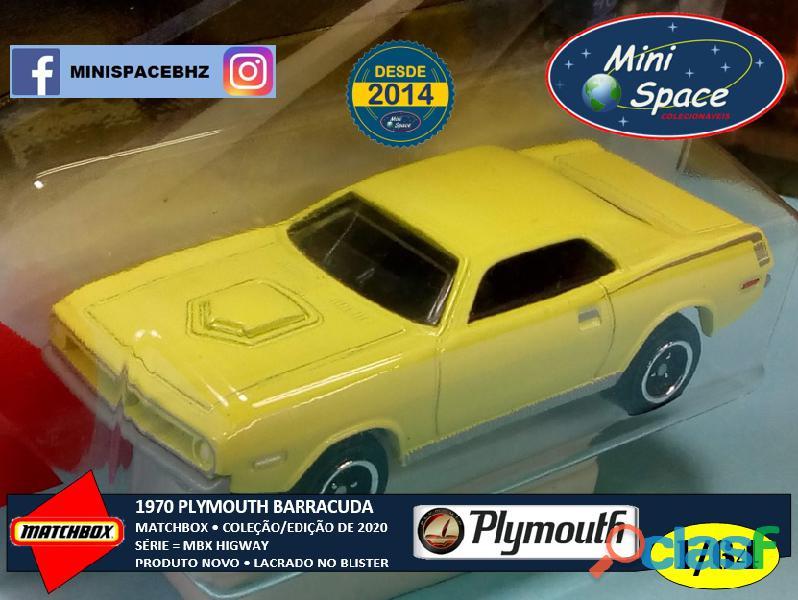 Matchbox 1970 Plymouth Barracuda 1/64 9