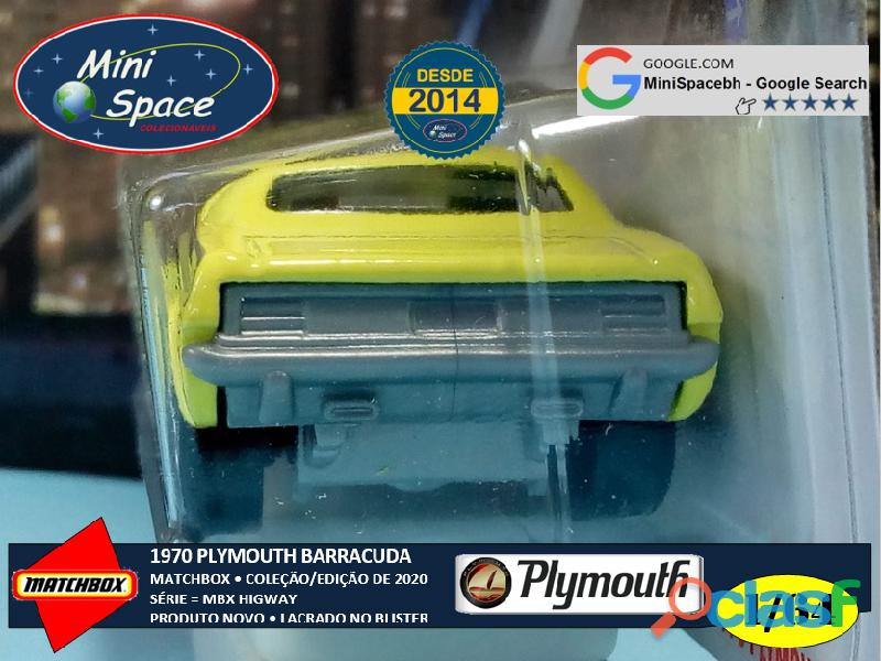 Matchbox 1970 Plymouth Barracuda 1/64 8