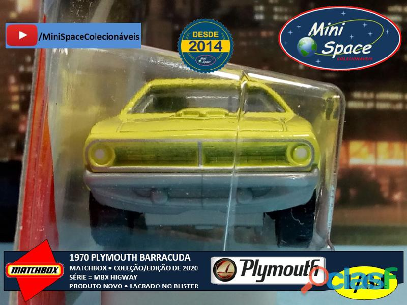 Matchbox 1970 Plymouth Barracuda 1/64 7