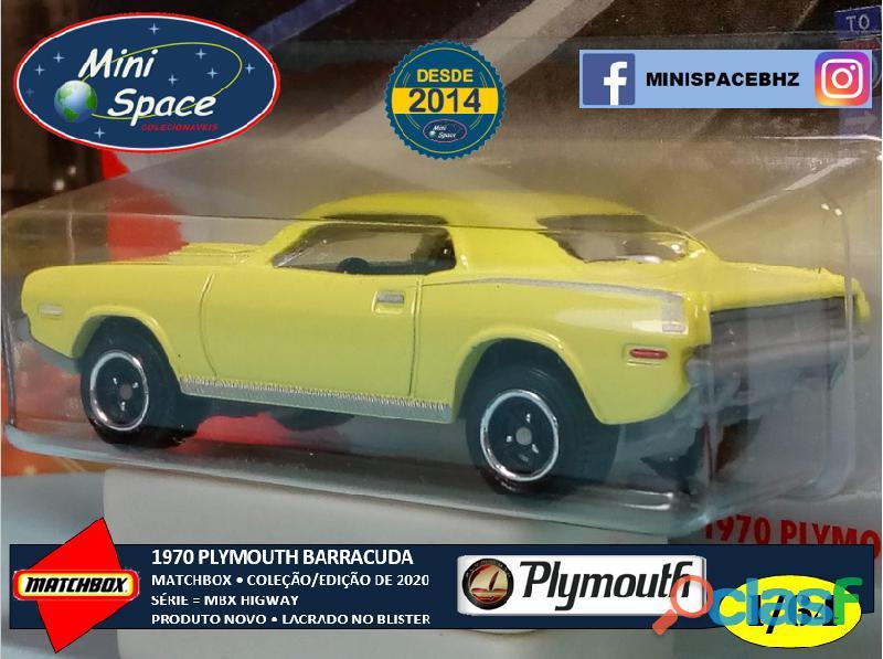 Matchbox 1970 Plymouth Barracuda 1/64 6