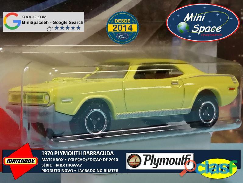 Matchbox 1970 Plymouth Barracuda 1/64 5