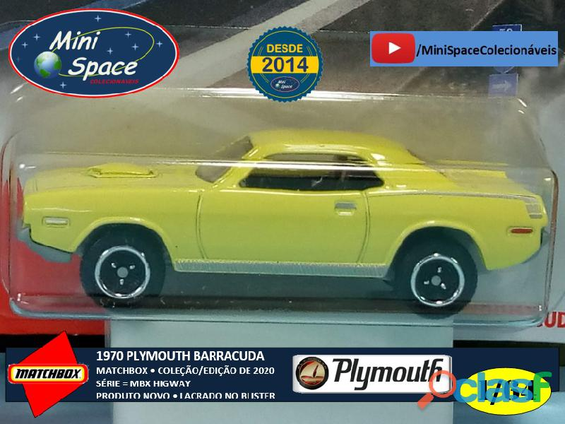 Matchbox 1970 Plymouth Barracuda 1/64 4