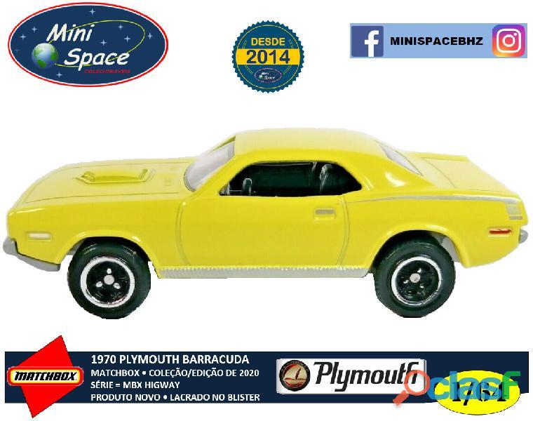 Matchbox 1970 Plymouth Barracuda 1/64 1