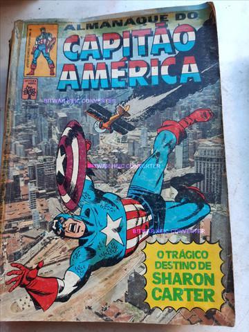 Hqs capitão américa (título da marvel dos anos 80) -