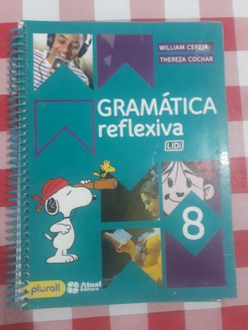 Livro gramática reflexiva 8° ano