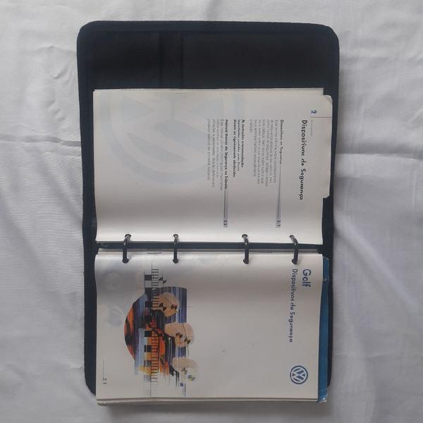 Manual do golf 2001 s/ preenchimento