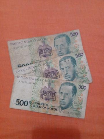 Notas antigas! r$ 100