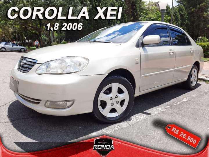 Toyota corolla fielder sw 1.8/1.8 xei flex aut.