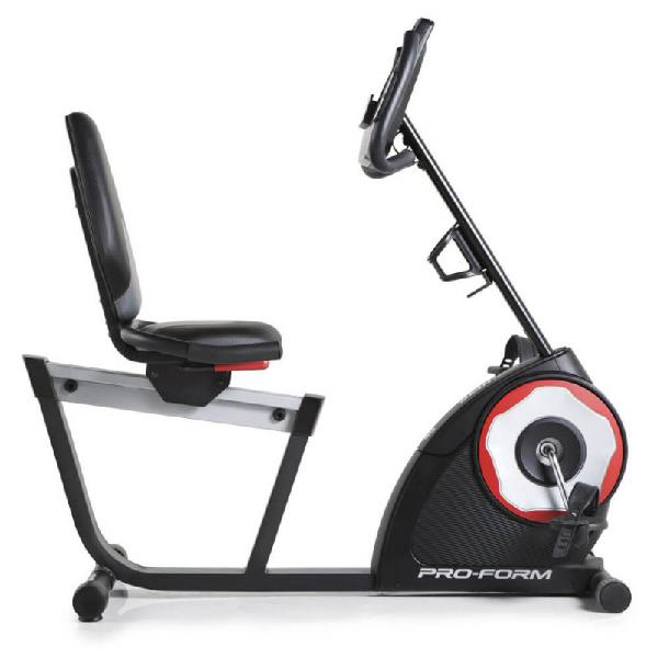 Bicicleta ergometrica proform horizontal csx 235 com display