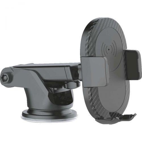 Carregador celular veicular wireless c//suporte usb 5v-2a