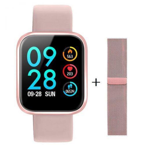 Rel/u00f3gio smartwatch p70 monitor card/u00edaco