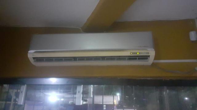 Ar condicionado lg 24000 btus semi novo