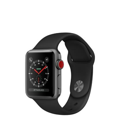 Relógio apple watch series 3 38mm 12xs/juros/garantia/nota