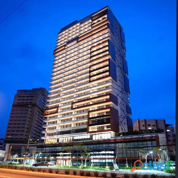 Apartamento loft andar alto vista fantástica mobiliado,com 52m² no helbor nun vila nova