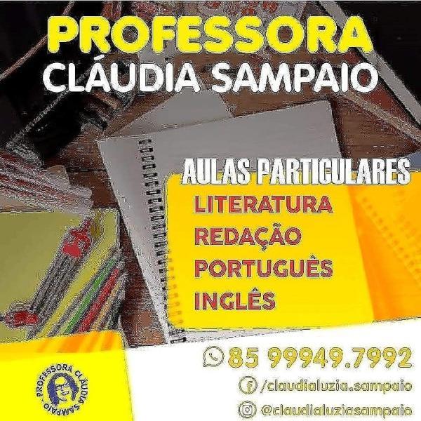 Aulas de português e redação em fortaleza