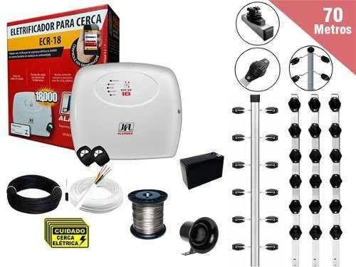 Cerca elétrica proteção residencial