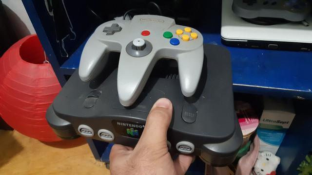 Nintendo 64 por outro videogame