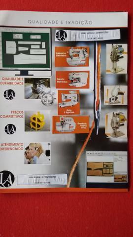 Serviços de confecção, desenho técnico, modelagem, peça