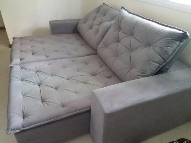 Show promoção !!! sofá retratil reclinavel c 2 largura