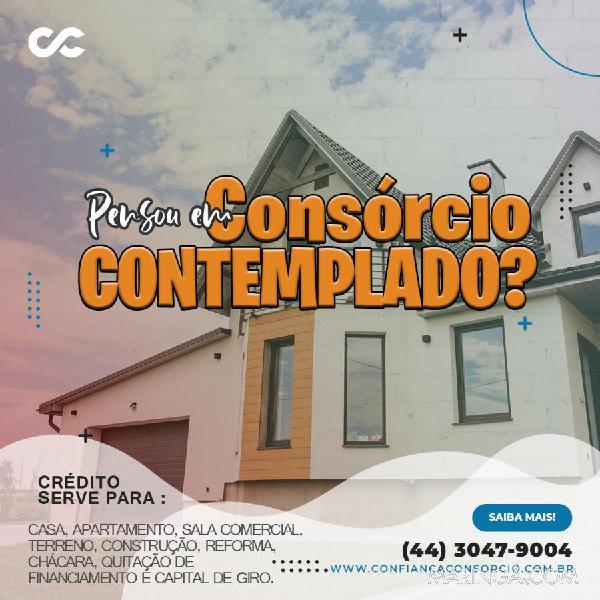 Consórcio imobiliário contemplado