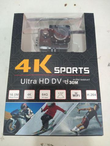 Câmera de ação action pro sport 4k wifi mergulho cor