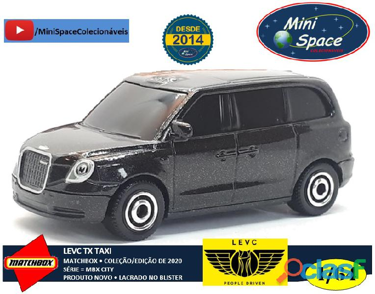 Matchbox levc tx taxi 1/64