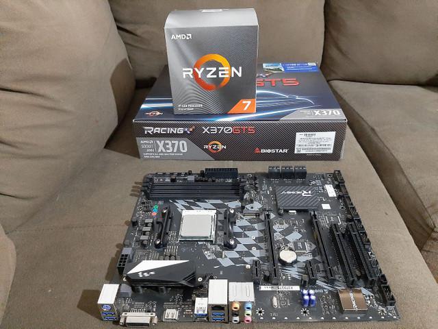 Kit placa mãe + processador rizen 7 3700x