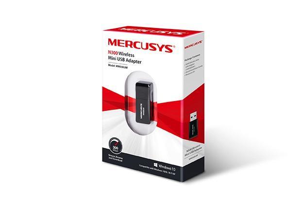 Mini adaptador usb wireless mw300um