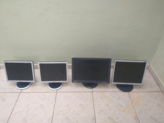 Monitores para conserto ou retirada de peças