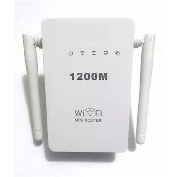 Repetidor wifi 2 antenas 1200mbps amplificador de sinal