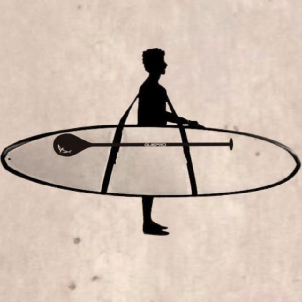 Sup sling - alça para transportar stand up paddle