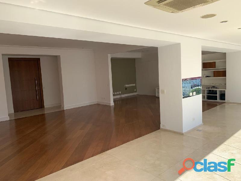 Apartamento de alto padrão mobiliado com 280 m² no edifício paris itaim 1