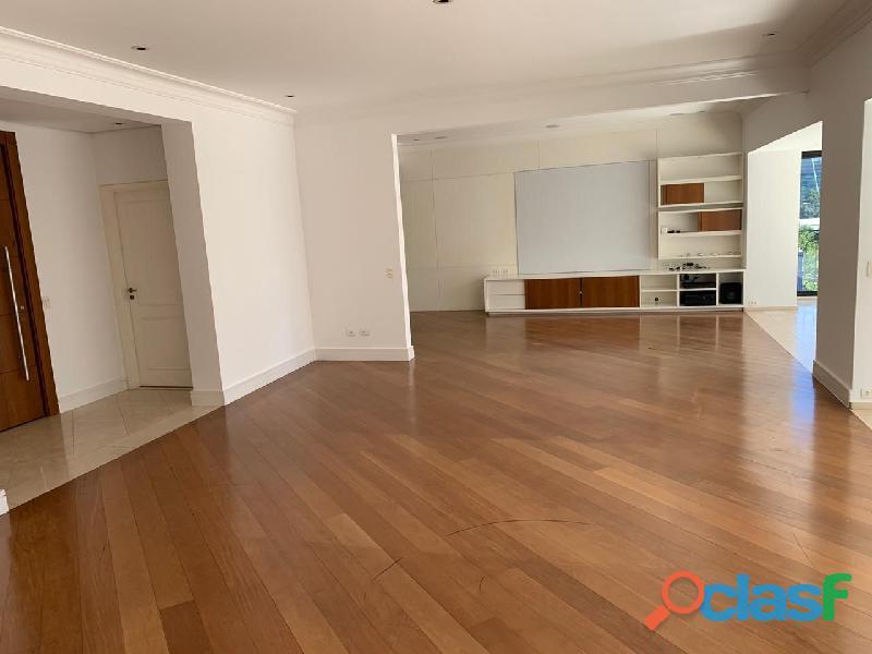 Apartamento de alto padrão mobiliado com 280 m² no edifício paris itaim 3