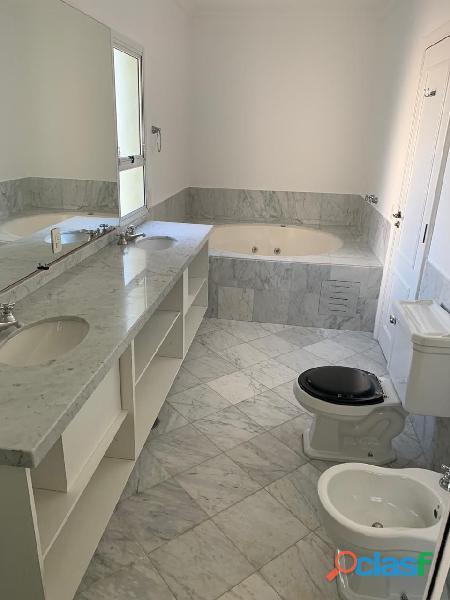 Apartamento de alto padrão mobiliado com 280 m² no edifício paris itaim 11