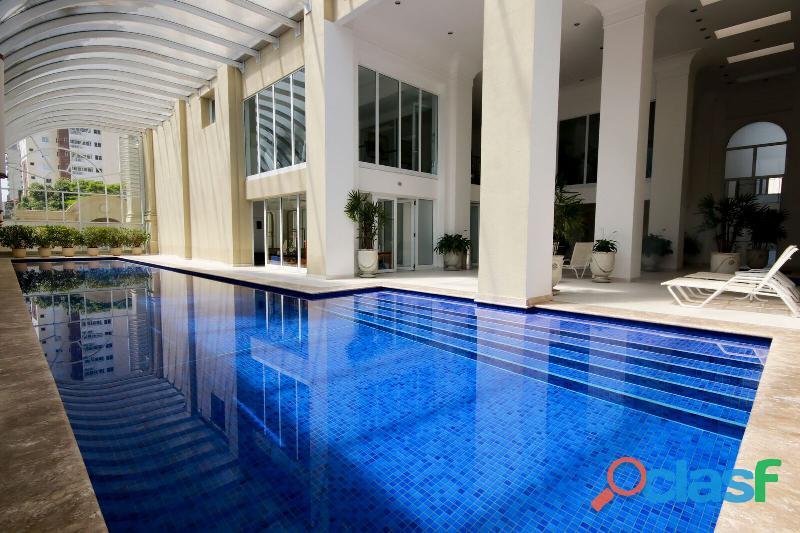 Apartamento de alto padrão mobiliado com 280 m² no edifício paris itaim 13