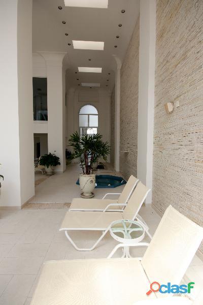 Apartamento de alto padrão mobiliado com 280 m² no edifício paris itaim 16