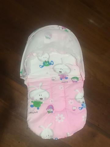 Berço mosqueteiro infantil cama