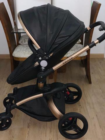 Carrinho de bebê luxo 360°