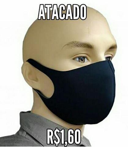 Máscara neoprene tecido lavável atacado envio grátis