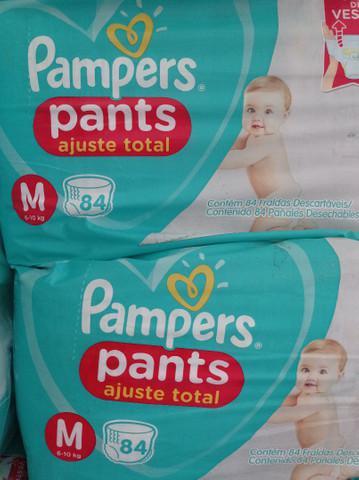 Oferta kit fraldas pampers pants leiam o anúncio