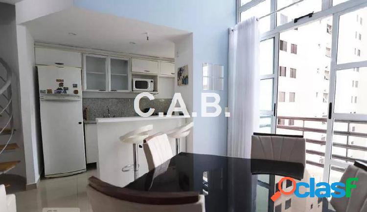 Apartamento mobiliado para locação loft