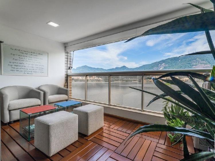 Apartamento à venda no lagoa - rio de janeiro, rj. im344192